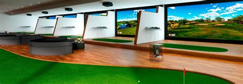 full swing golf simulator cost indoor golf simulator hd and full swing