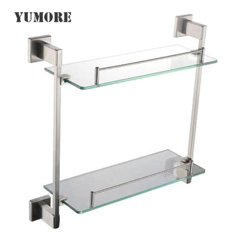 glass bathroom shelving bathroom shelf bathroom glass shelves shower shelves