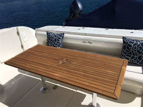 nautic star boat tables nautic star wing teak boat table marine teak
