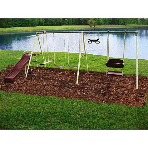 flexible flyer play park metal swing set flexible flyer play park metal swing set buy online in