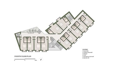 boutique hotel layout plan gallery of 40 room boutique hotel chris briffa