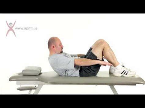 exercise supine abdominal crunchmv youtube