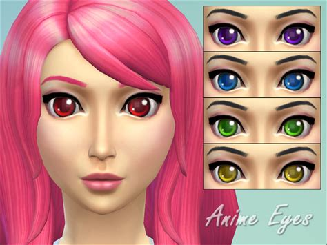 sims 4 mods manga miep s anime eyes