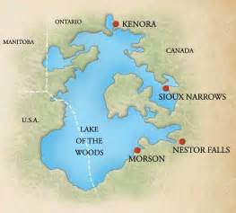 lake of the woods canada map map of the canadian woods pictures to pin on