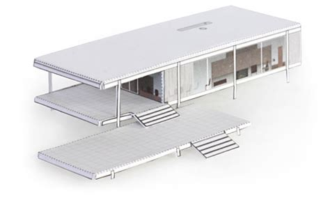 farnsworth house section how to build the farnsworth house