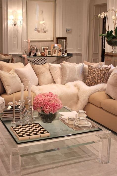 cozy home interior is both eco and glam cozy glam living room flower child pinterest