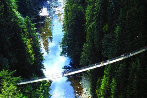 Capilano Suspension Bridge - Bing images