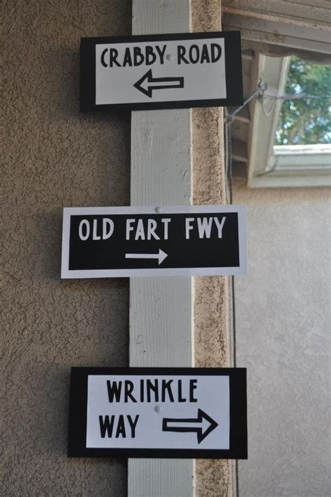 printable over the hill road signs 50th birthday projects to try pinterest birthdays