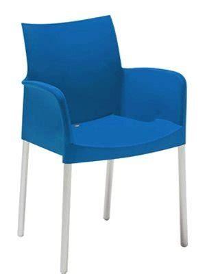 blauwe kantoorstoelen pedrali ice stoel met armleggers multi meubel