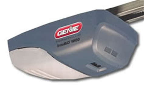 Genie Intellig 1200 3 4 Hp Dc Motor Chain Or Belt Drive Genie 1200 Garage Door Opener