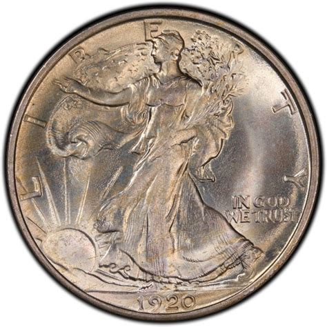 1920 silver dollar 1920 walking liberty half dollar values and prices past