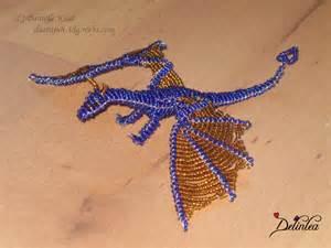 beaded dragon ii by delinlea on deviantart