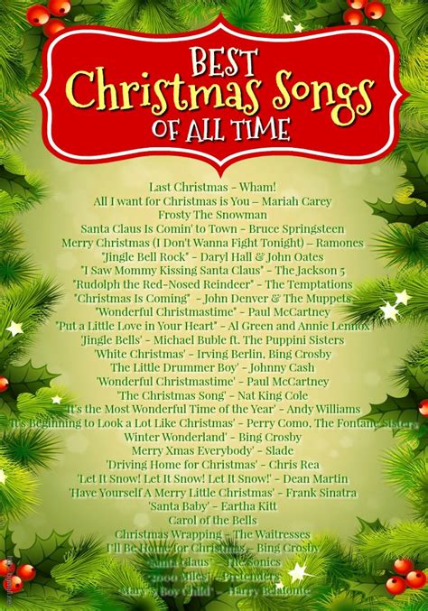 42 best christmas songs ever christmas celebration