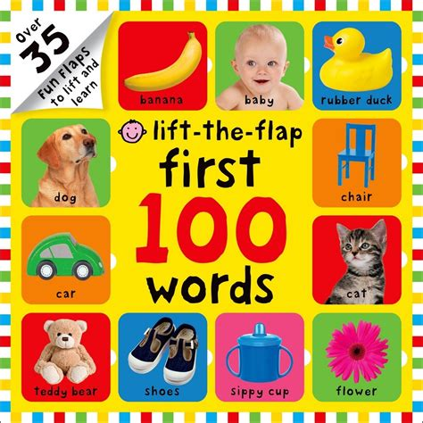 libro lift the flap first 100 first 100 words lift the flap roger priddy macmillan