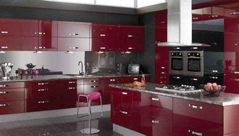 red kitchen decor black and red kitchen room ideas centerfieldbar com