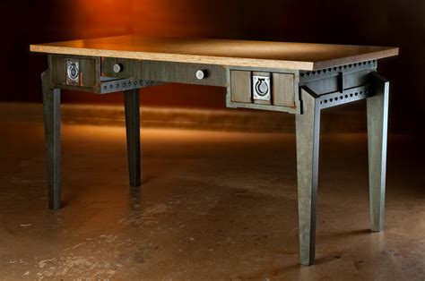Industrial Style Office Desk Industrial Style Office Desk Steunk By Griffinmodern On Etsy