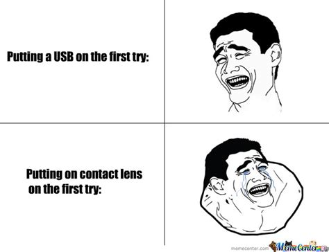 Contact Lens Meme - those dam contact lens by helsing meme center
