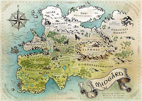 Online Building Map Maker map of midgard by ullakko deviantart com on deviantart