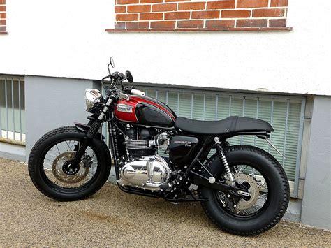 Triumph Motorrad T100 by Umgebautes Motorrad Triumph Bonneville T100 Von Sbf