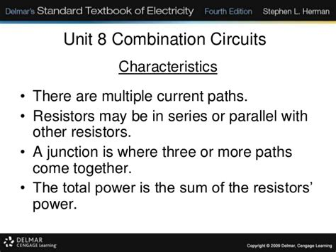 resistors in series sum 4 3 b form 4 combined circuits