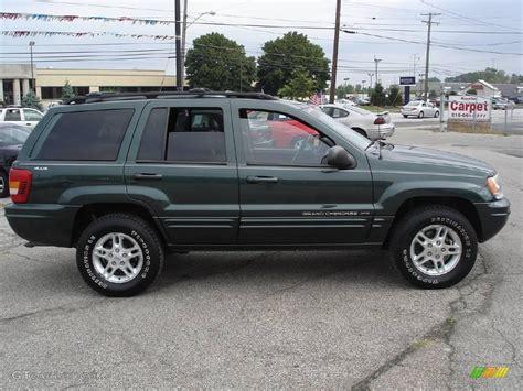 2000 Jeep Grand Limited 4x4 2000 Shale Green Metallic Jeep Grand Limited 4x4