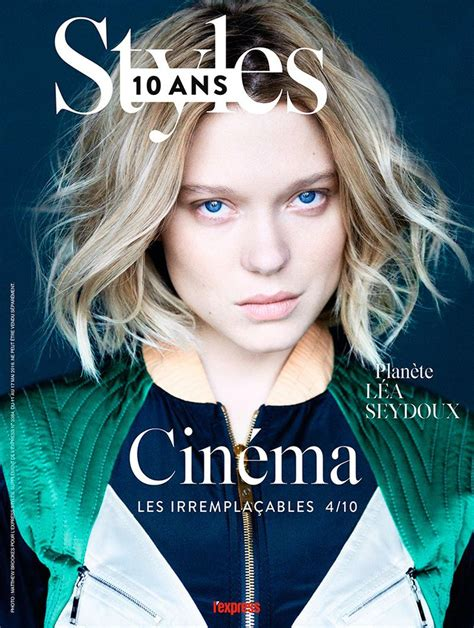 lea seydoux tatler l express styles may 11 2016 cover l express styles