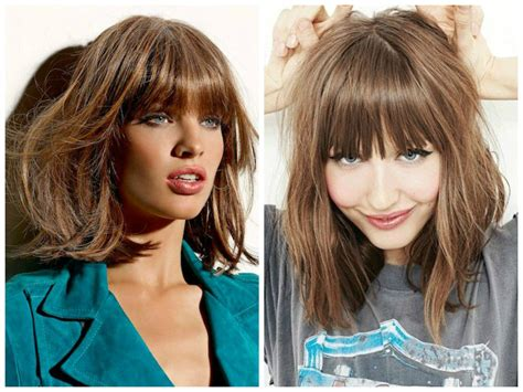lob hairstyles with bangs the best lob haircut ideas hair world magazine