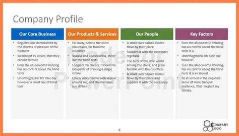 model company profile template 7 company profile sle design company letterhead