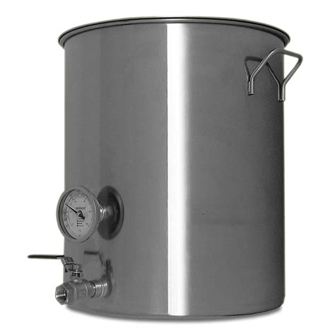 stainless steel brewing 20 gallon stainless steel welded brew kettle for