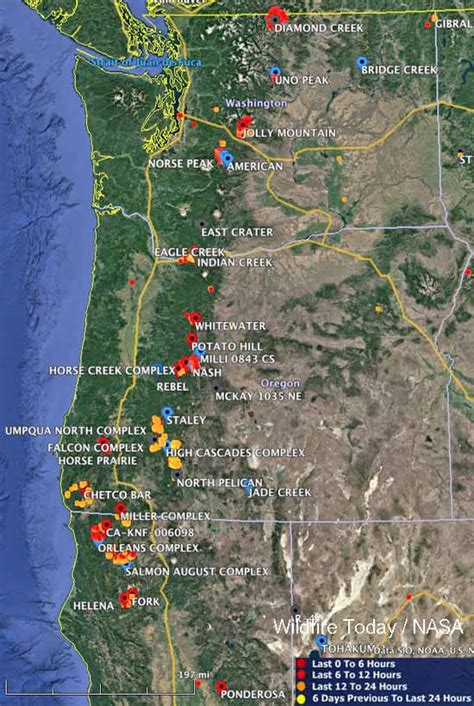 map of current wildfires wildfire maps california my