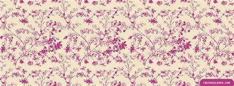 timeline pattern pink leafy pattern facebook cover fbcoverlover com