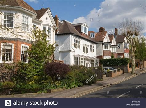buy a house in wimbledon quot wimbledon village quot housing south west london sw19 london uk homer stock photo