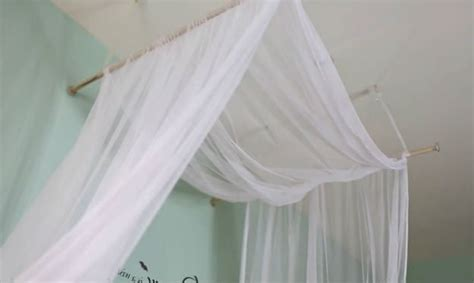 homemade bed canopy how to make a romantic diy bed canopy diy ready