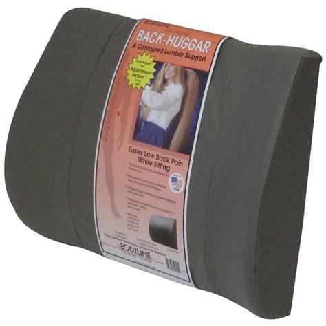 Support Pillows Bodyline Back Huggar Lumbar Support Cushion Backrest