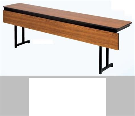 laminate top particle board folding table 60