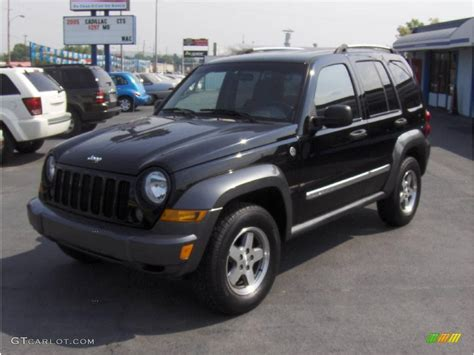 black jeep liberty 2006 black jeep liberty sport 4x4 16896775 gtcarlot com