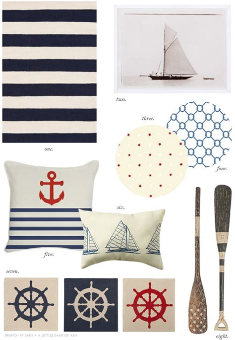nautical home decor nautical themed home decor interiors b a s blog