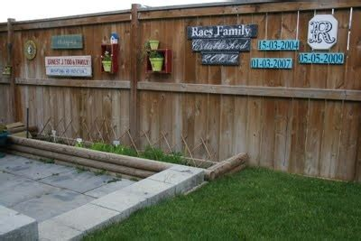 decorating my wooden fence would be fun for the yard pinterest backyards creative and