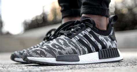 Adidas Nmd Runner R1 Grey Premium Quality on foot look at the adidas nmd r1 pk grey fastsole