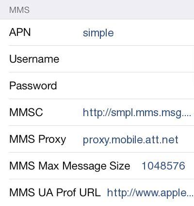 mobile apn settings simple mobile apple iphone 6 and apn settings