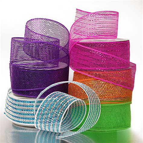 deco mesh 2 1 2 deco ribbon