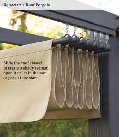 diy retractable awning this would just be hung on an
