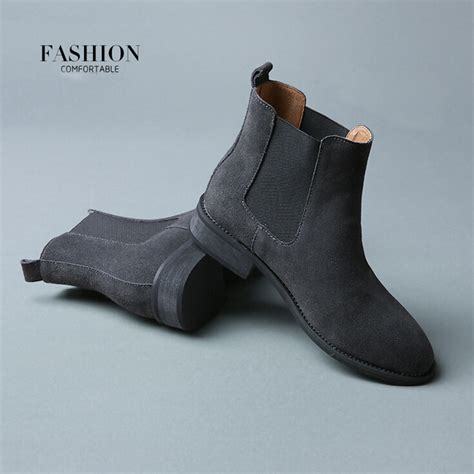 2016 winter chelsea genuine leather boots matte