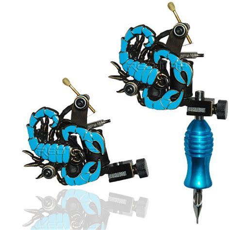 tattoo gun clip cord setup blue scorpion professional tattoo machine for power supply