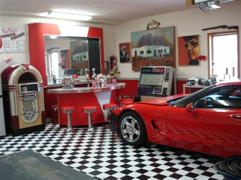 vintage garage house design and decor retro garage repinned by greased lightning garages