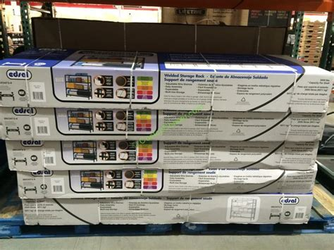costco 566085 edsal industrial rack all costcochaser