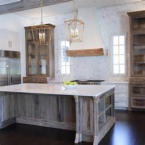 salvaged wood kitchen island reclaimed wood kitchen island we used black cypress for the cabinetry and pecky cypress for the