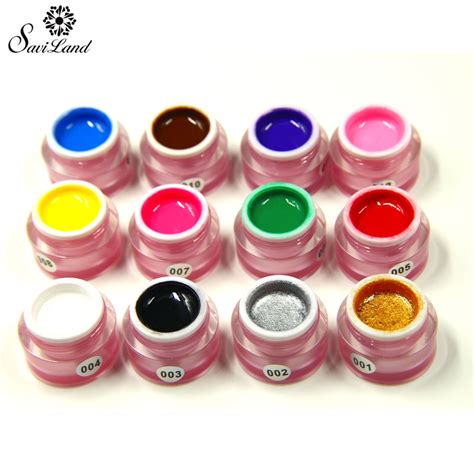 Nail Paint by Saviland 1pcs Gel Nail Paint Draw Painting Colors