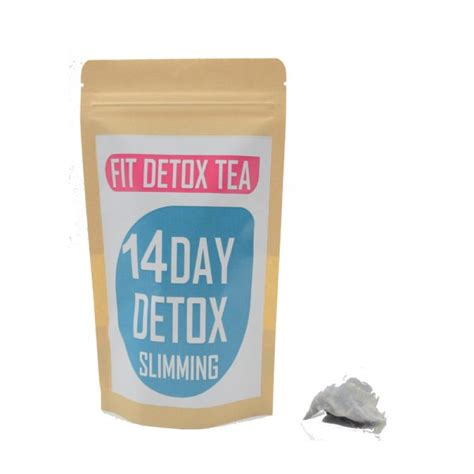 Fit Tea 28 Day Detox by Fit Detox Tea 28 Day Detox Slimming Shapes By Mena