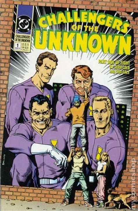challengers of the unknown challengers of the unknown 1991 dc 2nd series comic books
